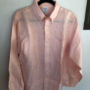 Brooks Brothers Irish Linen Shirt - Size M